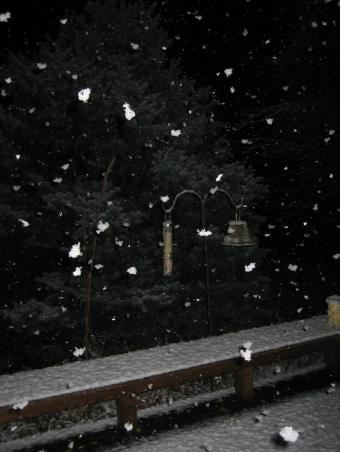 1st snow of 2004