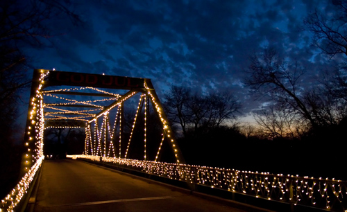 bridge lighting/holiday kickoff