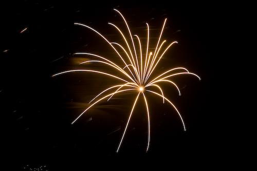 Lindsborg fireworks