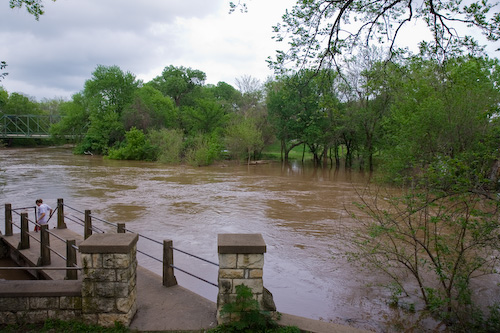 Lindsborg flood