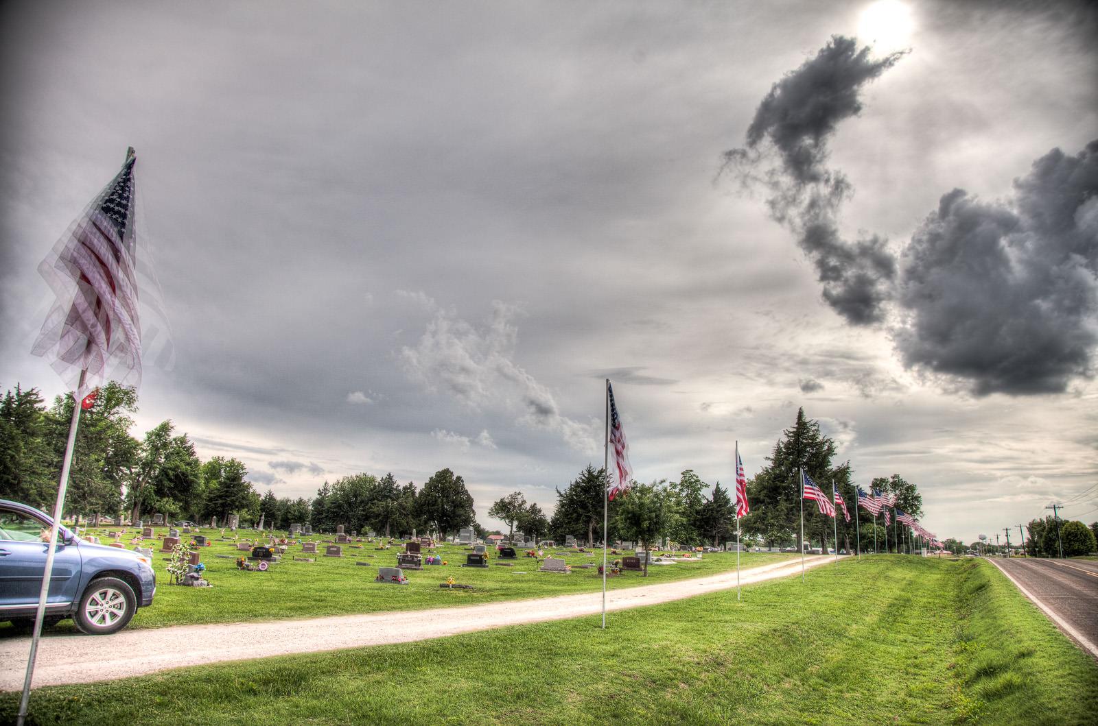 Memorial Day around Lindsborg