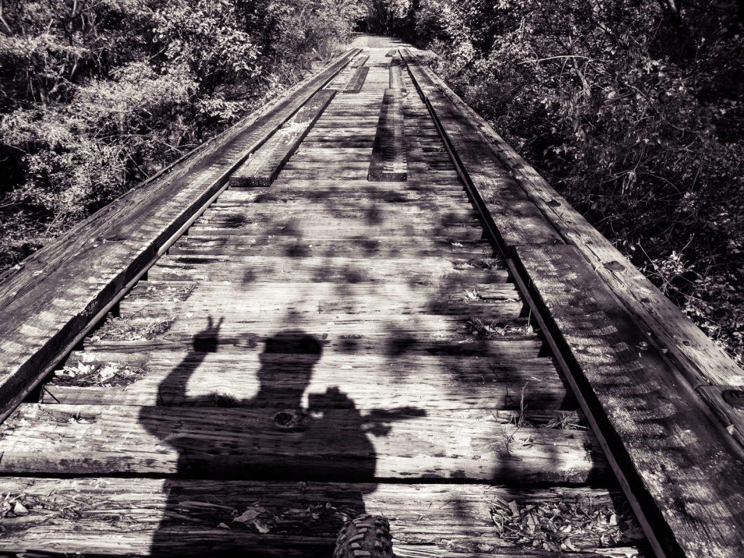 Meadowlark Trail: cool old bridge