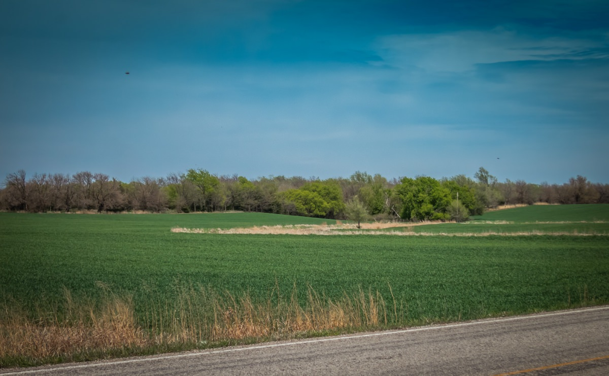 Pretty Kansas countryside