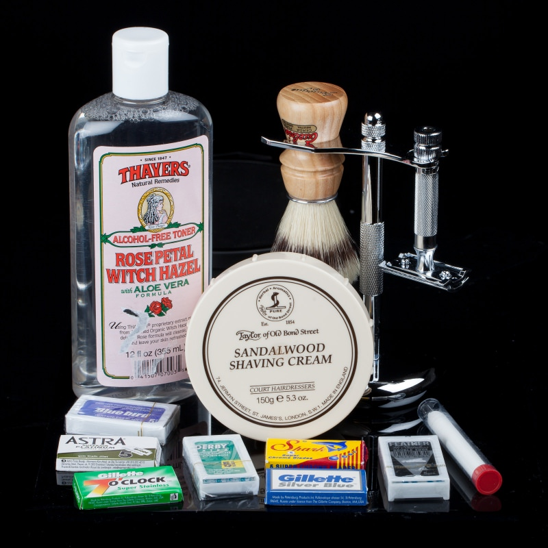Double Edge Shaving Kit