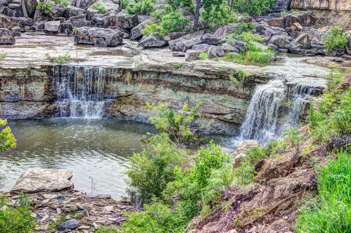 Kansas Waterfalls Journey