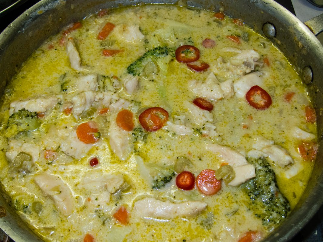 Thai Green Curry Chicken | All the Pages Are My Days