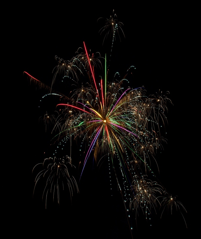 Fireworks at home!