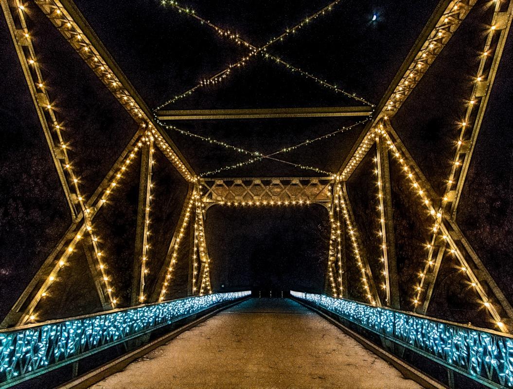 Smoky Hill River Bridge in Lindsborg
