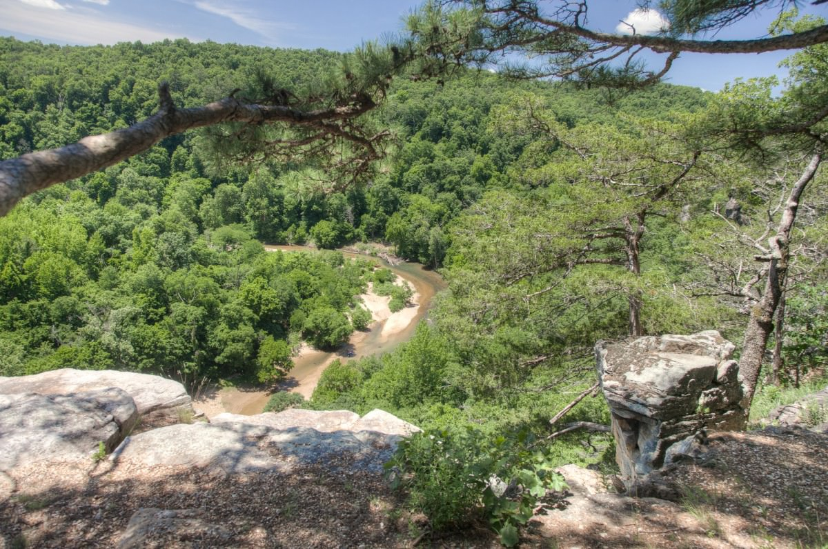 Kings River Overlook, NW Arkansas