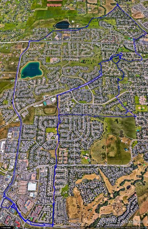 Ride Map Louisville CO Bike Trails