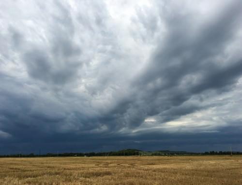 Summer Storm near Lindsborg,  2016