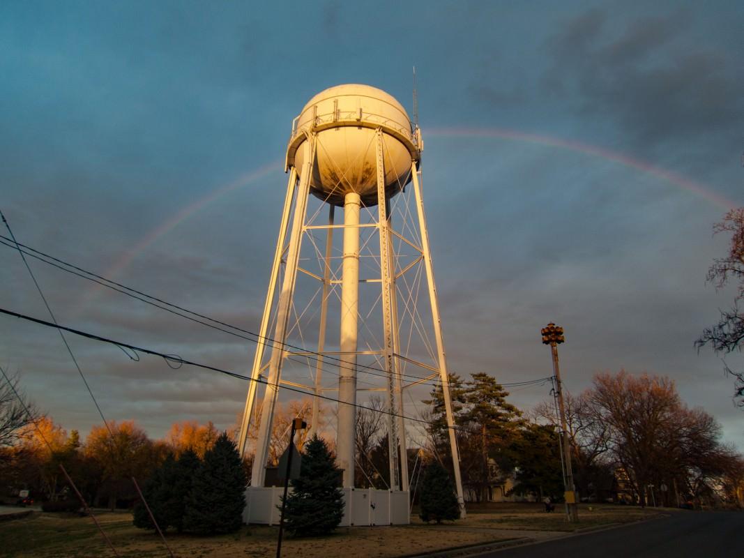 Rainbow Across Lindsborg