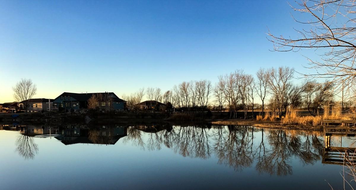 Calm at Emerald Lake