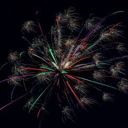Lindsborg's 4th of July Fireworks