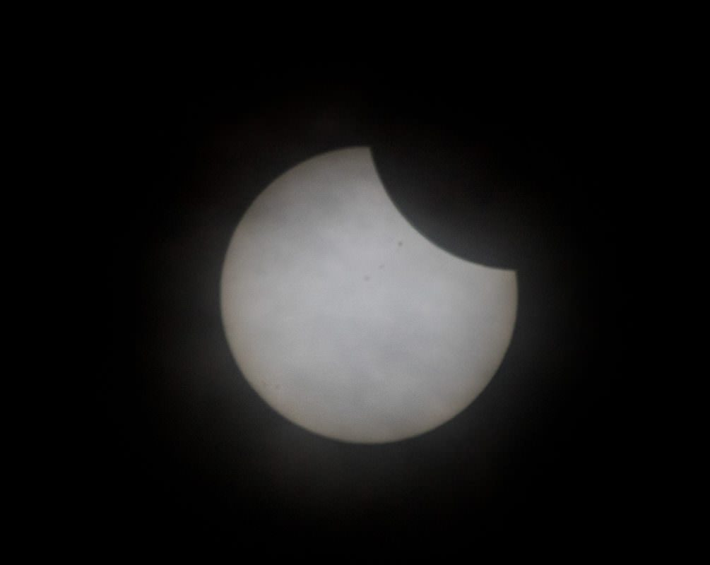 Eclipse 2017 Just Starting