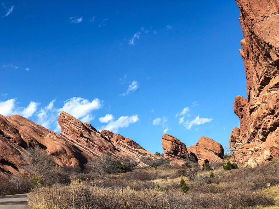 Entrance to Red Rocks