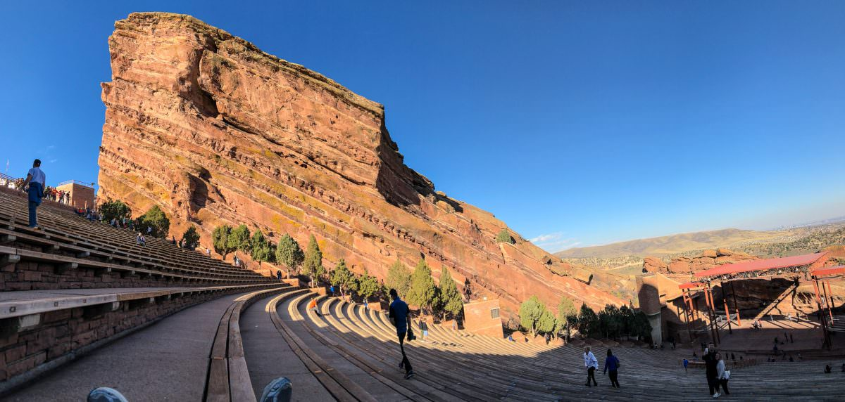 Red Rocks panorama