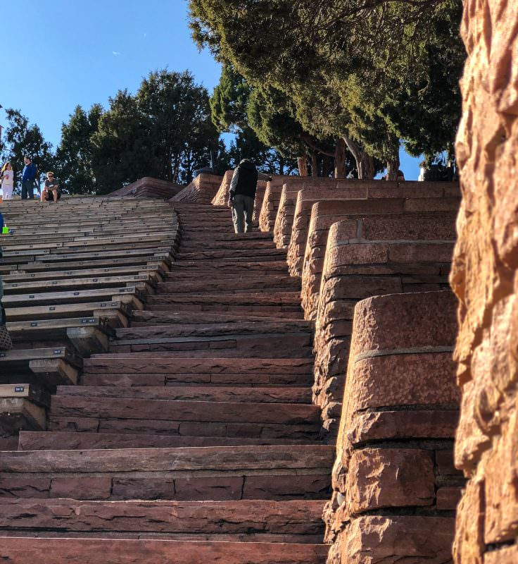 Red Rocks stairs