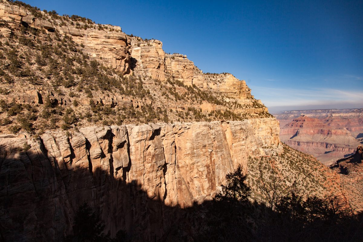 Grand Canyon Hike: Stunning View