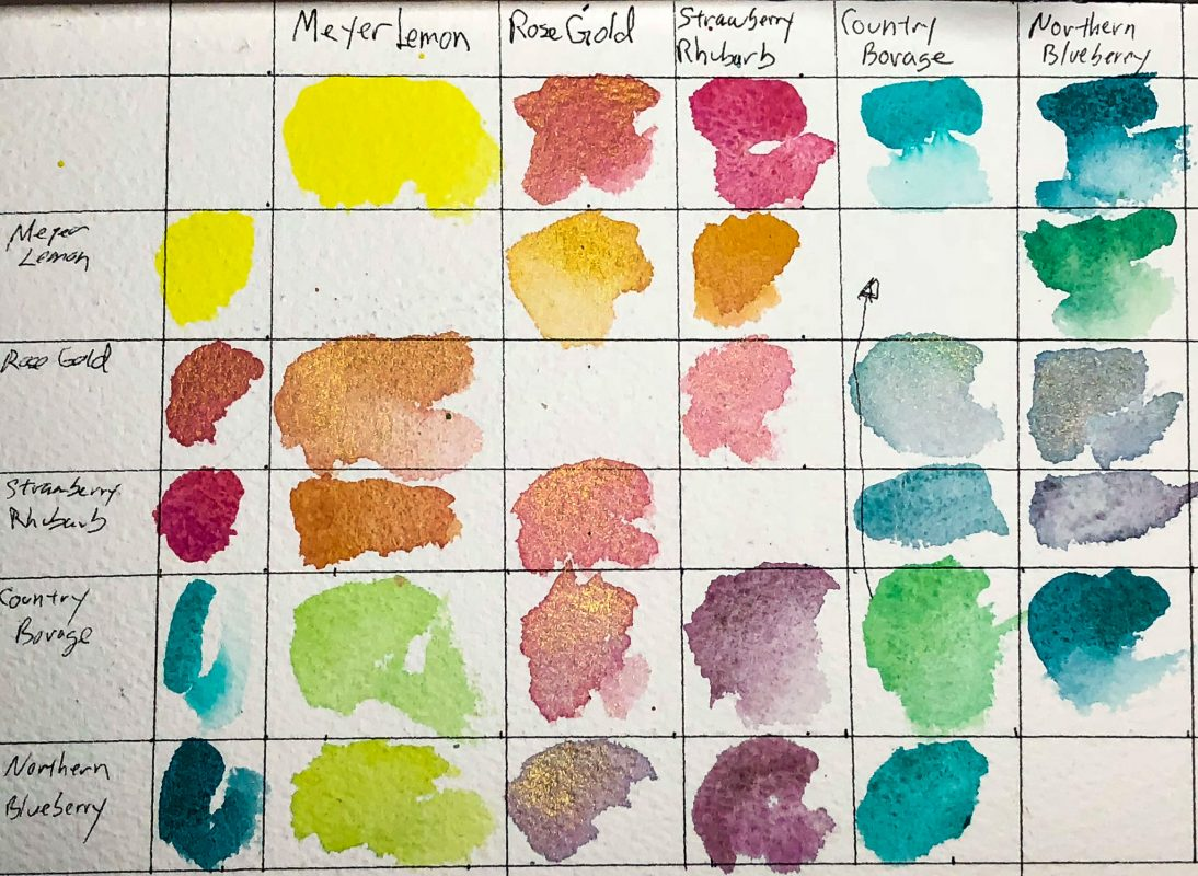 Wild & Free Color Chart
