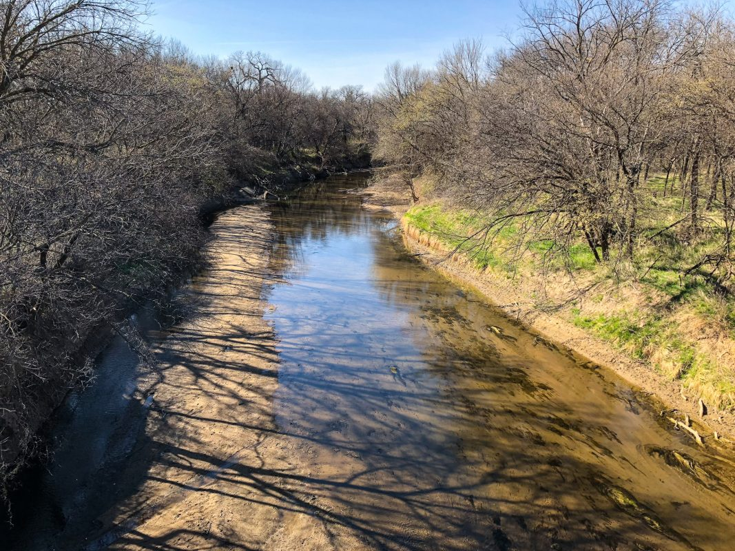Smoky Hill River -- Very Low